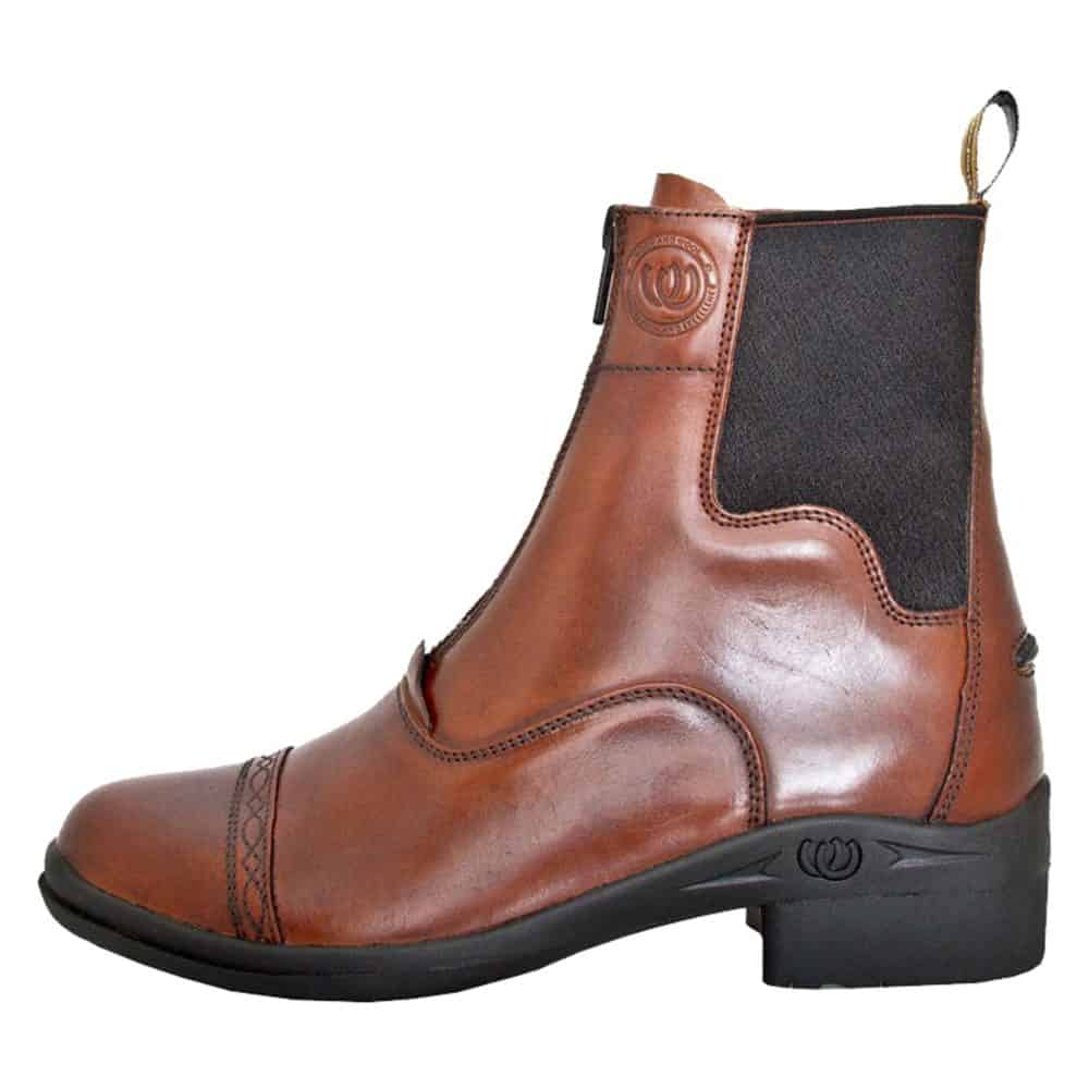 HW90400-CHO - Paddock Zip Boot - Outer Side - Left Foot (Square) 3