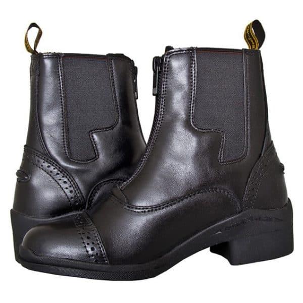 HW102 Kids Paddock Zip Boot - (Pair) (Square)