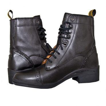 HW301 Paddock Lace Boot - Black (Pair) (Square)
